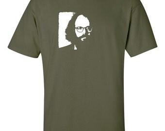 Allen Ginsberg T Shirt beat generation poet