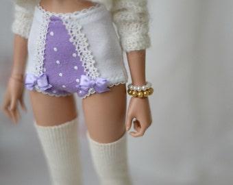 Bracelet for minifee white dark gold for bjd doll