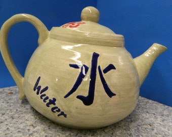 Handpainted Ceramic Teapot