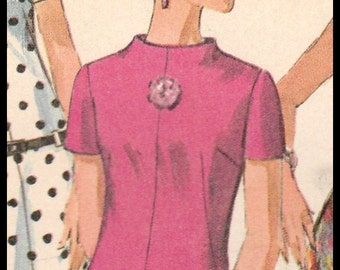 """Simplicity 7161  Misses' Jiffy Dress Size 12  Bust 32"""""""