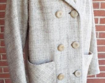 Wonderful Vintage Cream Coat for her by Oscar Cahn