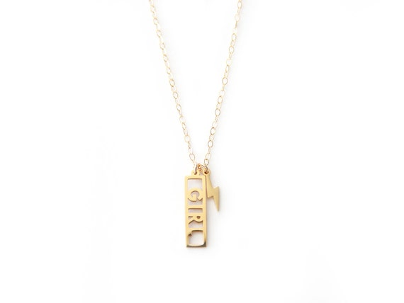 Girl Power Necklace - 1073