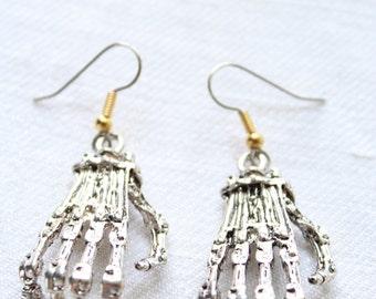 """Dangling earrings. """"Robotic Hands"""""""