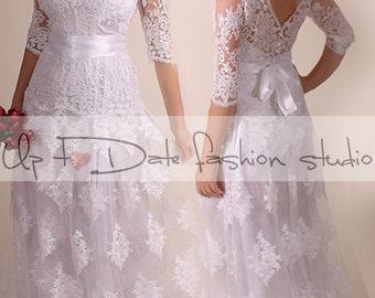 Plus Size Reception Dresses