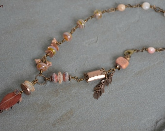 apricot nectar necklace . . .