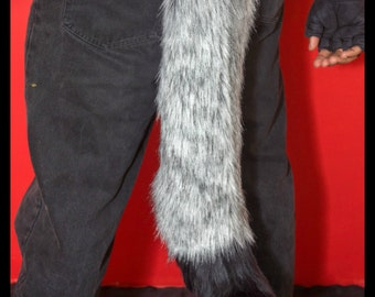 Medium Canine Tail w/ Tip *Any Color*