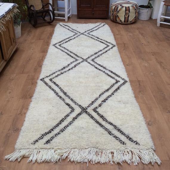 Hallway Moroccan Rug Long Runner Berber By Beniouraincarpets