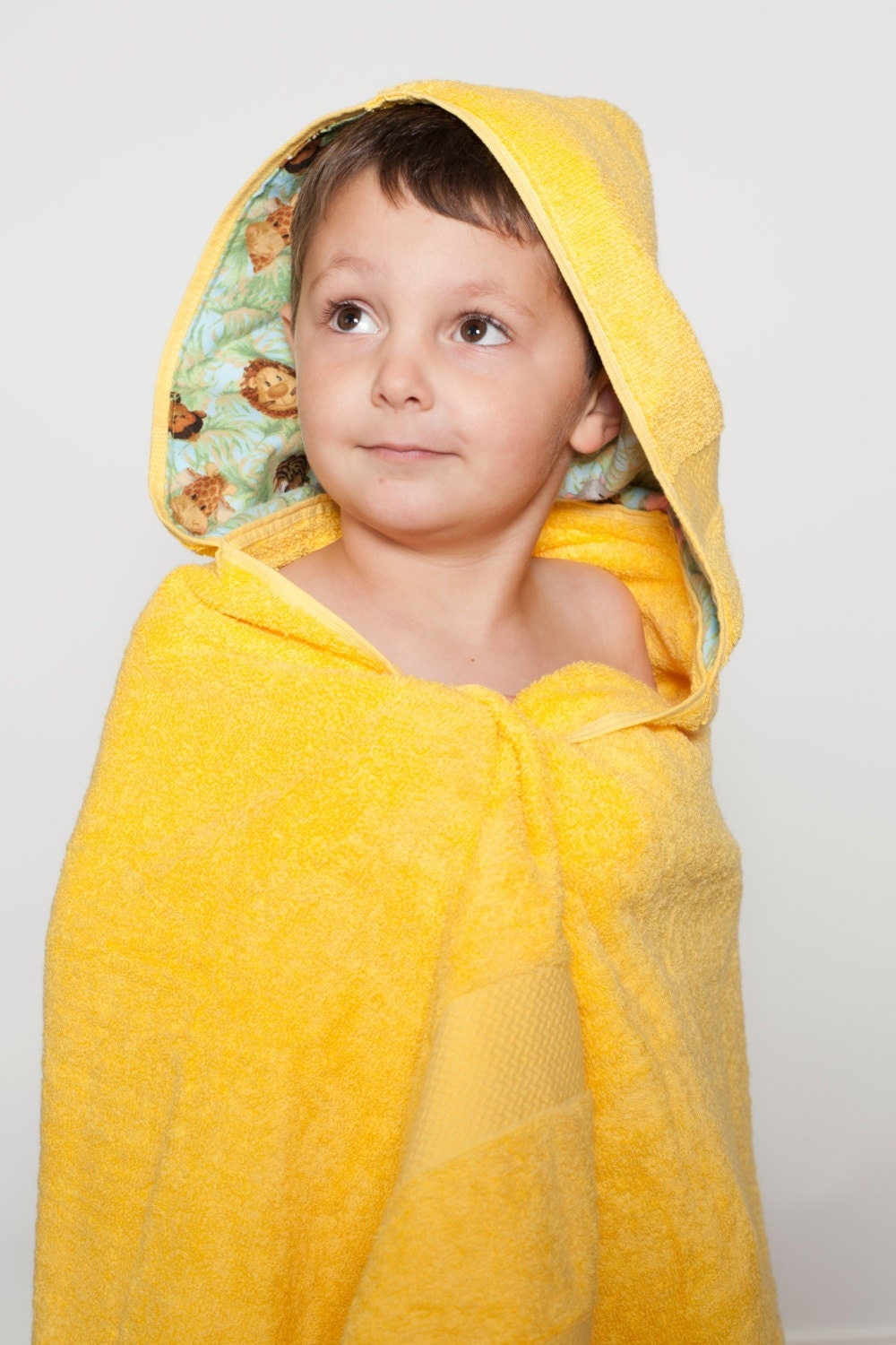 personalized hooded baby towel baby bath towel kids hooded. Black Bedroom Furniture Sets. Home Design Ideas
