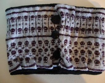 Reversible Cowl Starlight Skulls