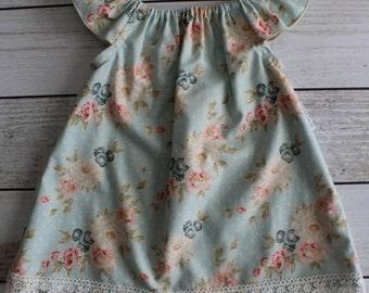 Vintage Ruffle Sleeve Dress - Various Sizes