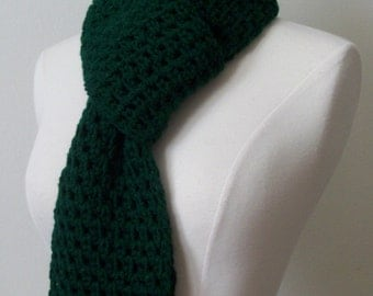 Hunter Green Scarf - Extra long