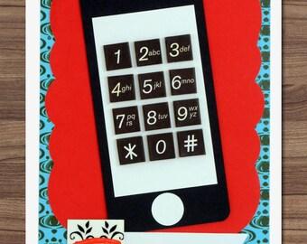 Call Me Mobile card