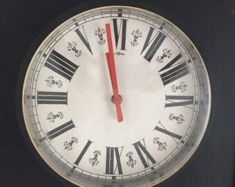 Roman Numbers Clock Etsy