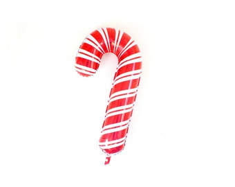 Candy Cane Balloon, Candy Cane Party, Kids Christmas Party, Christmas Party, Christmas Party Decor, Holiday Party, Jumbo Balloon