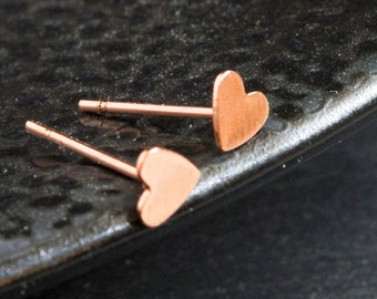 Noble heart Stud Earrings