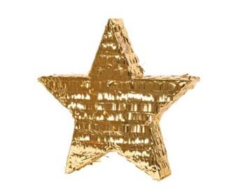 Metallic Star Piñata modern with a classic twist Twinkle twinkle little star