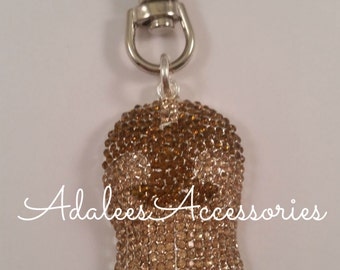 Cowgirl Boot Keychain / Zipper Pull