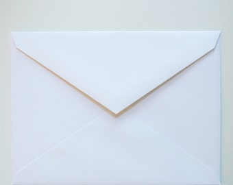 25+ A6 white envelopes - Wholesale Pricing