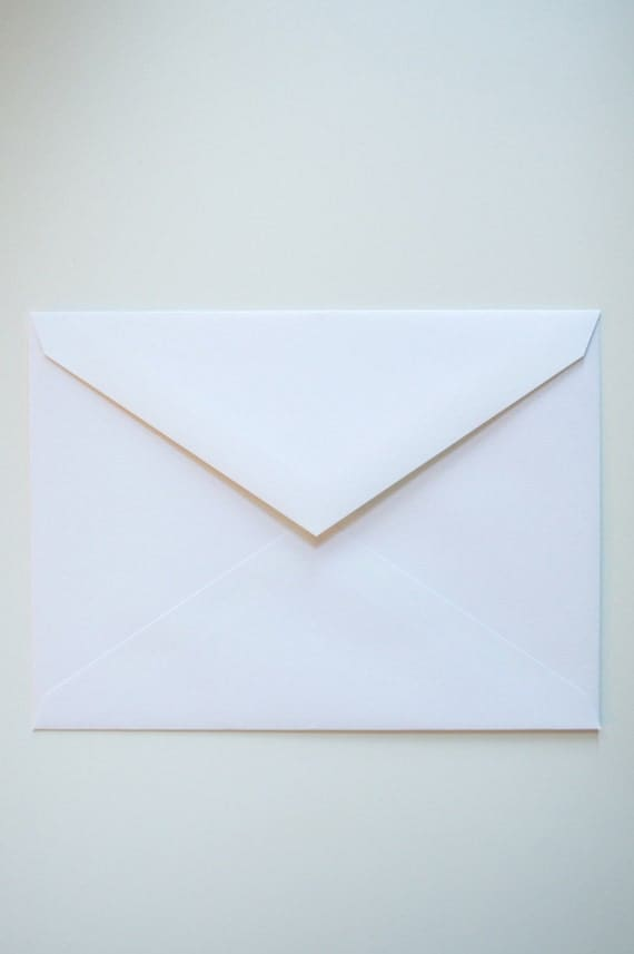 25+ A6 white envelopes - Wholesale Pricing