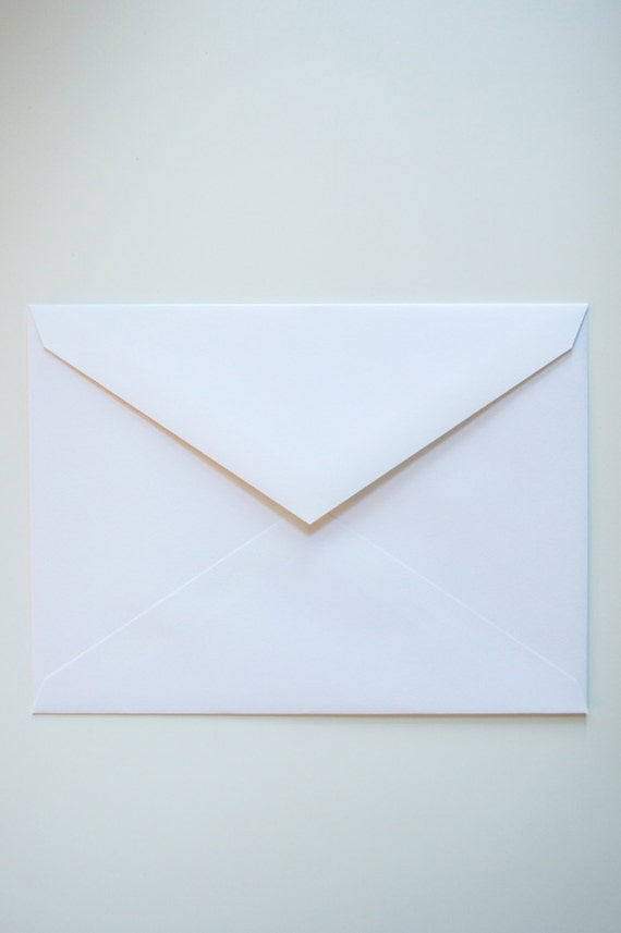 250 white envelopes in bulk - A6- Wholesale Pricing