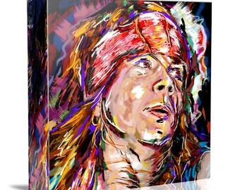 Axl Rose Canvas Art, Guns n Roses Painting