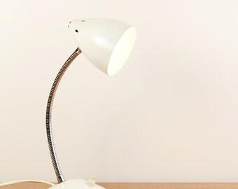 Vintage grey Hala table lamp - Mid-century modern - Dutch design - ca. 1950s