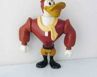 Disney Darkwing Duck Launchpad McQuack Action Figure Toy 1991 Playmates Toys