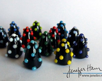 BUMPS! Hand Made Glass Lampworked Player Markers Figurines Sculptures for Board Games