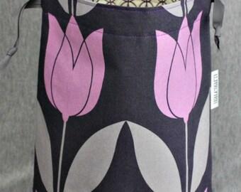 Tulips BIG SOFTIE Project Bag
