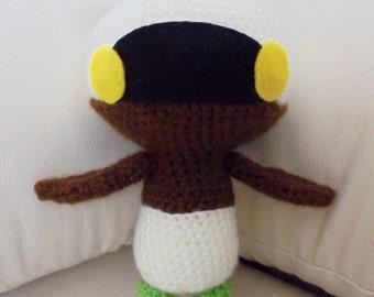 Crochet PATTERN Final Fantasy Mandragora amigurumi doll