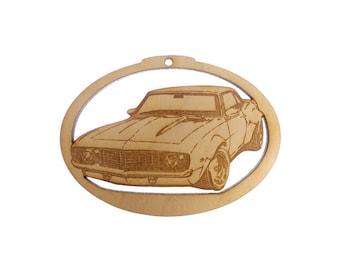 1969 Camero Ornament - Camero Gifts - Classic Camero Gift - Camero Ornaments - Classic Car Gift - Personalized Free