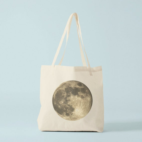 Full Moon tote bag.