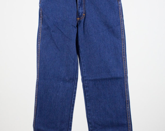 80s Vintage High Waisted Skinny Jeans | Gitano Denim Mom Jeans | Size 3 Short