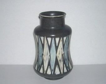 Eva Johannes Andersen E and J Denmark Pottery Vase Mid Century Modern