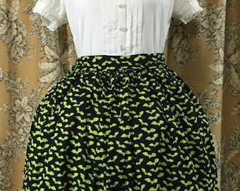 Neon Bat Lolita Skirt