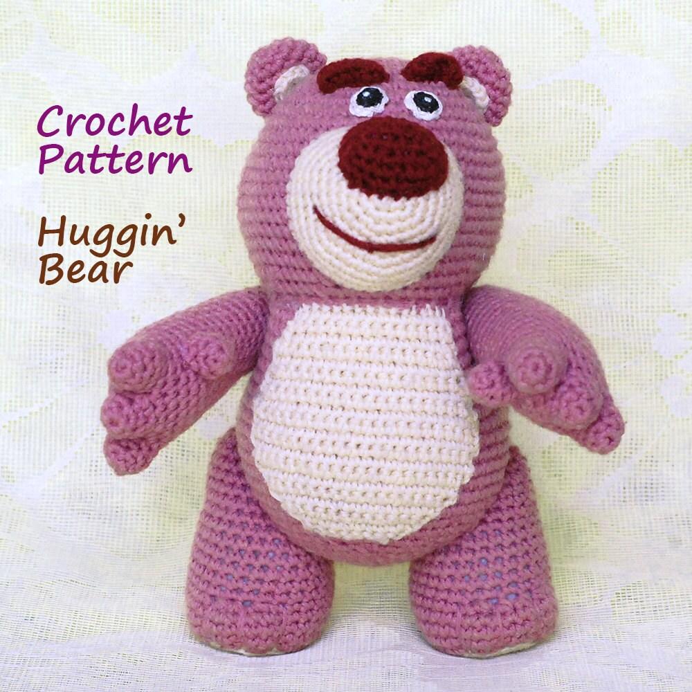 Crochet Pattern. Lotso Toy Story