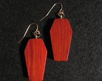 Redheart Earrings