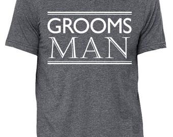 Groomsman Wedding Shirt Gray or Black, Groomsman Vneck, Wedding shirt, wedding, Wedding shirts, Groom