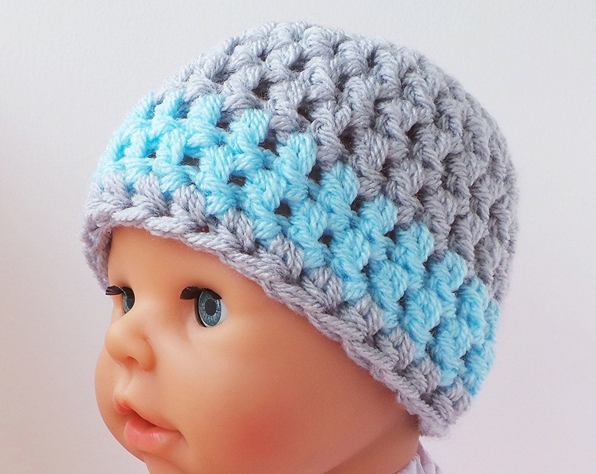 Beginner Crochet Hat Tutorial : How to crochet crochet hat pattern with photo tutorial Baby