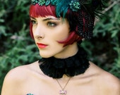 Flapper Wig/ Great Gatsby Wig/ 1920's Wig/ Bob Wig/ Red Wig/ Boardwalk Empire Wig/ Cabaret Wig/ Moulin Rouge/  Burlesque Wig