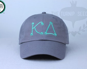 Kappa Delta Baseball Cap - Marbles - Custom Color Hat and Embroidery.