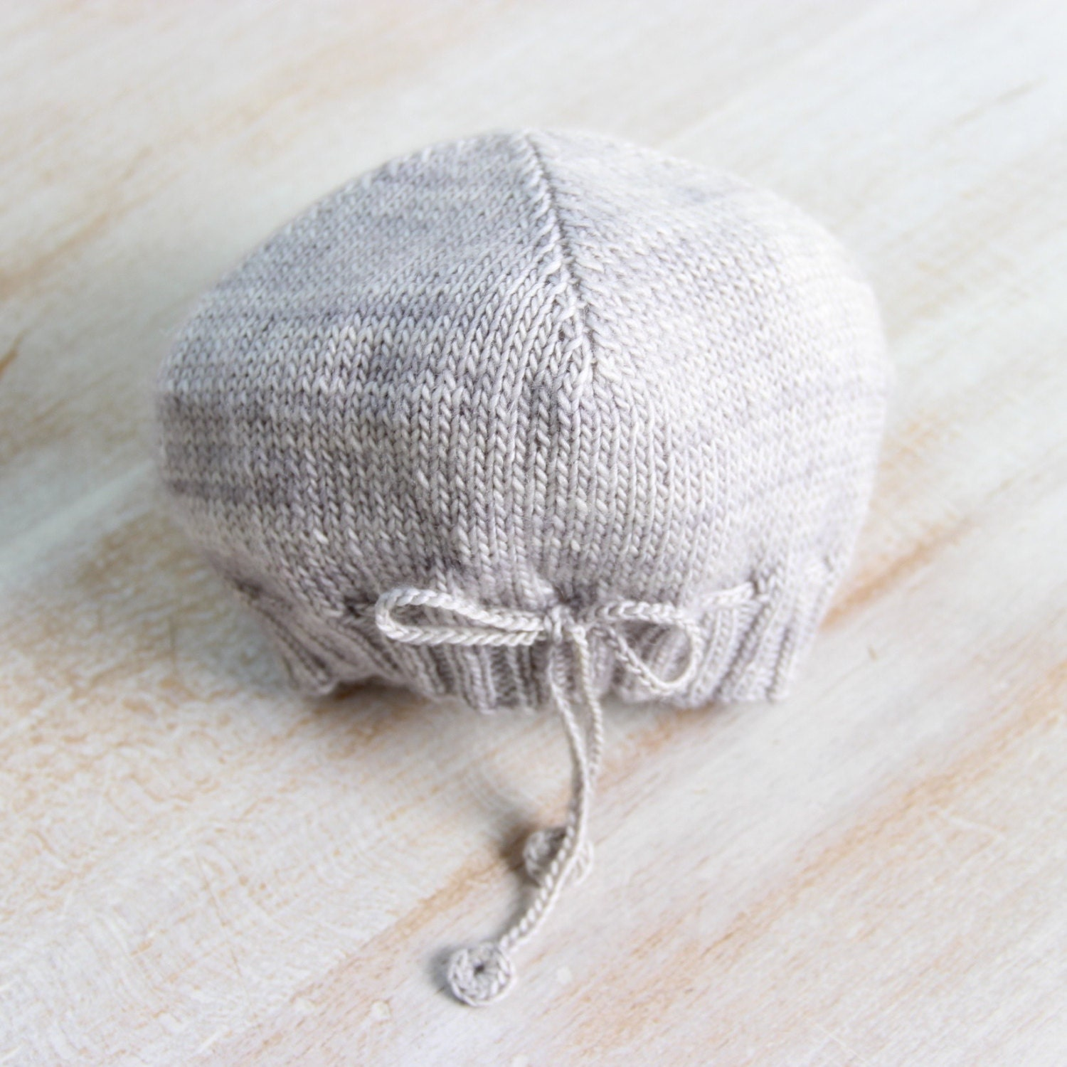 French Baby Knitting Patterns : Baby Hat / Knitting Pattern Instructions in French / PDF Instant Download / 4...
