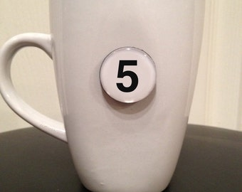 Quote | Mug | Magnet | Number '5'