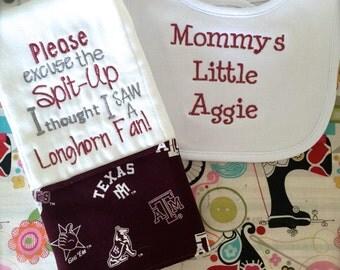 Items Similar To Aggie Hair Bow Texas A Amp M Custom