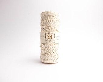 Hemptique White Hemp Cord 1mm 62.5m , Hemptique Cord, White Hemp Cord, White Hemptique Cord HMS0006