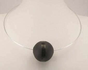 Blown glass necklace, Murano glass