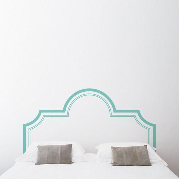 Elegant Headboard Wall Decal Sticker Bedroom Wall Sticker