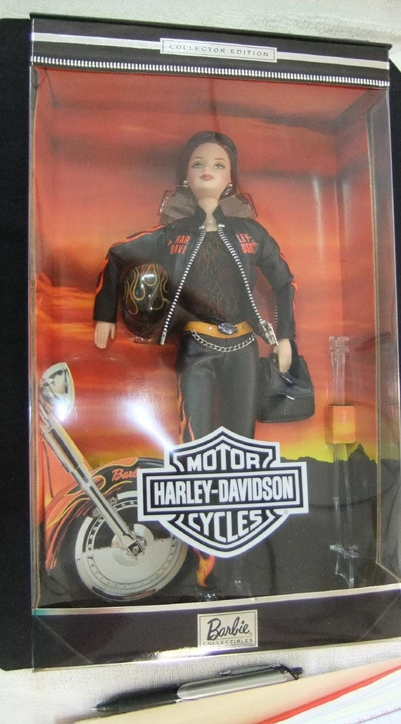 barbie motorcycle vintage rider pigs your