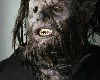 Wolfman mask/mask with tooth/teeth