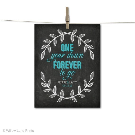 Paper first anniversary gift for wife or by